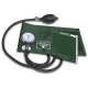Esfigmomanômetro aneróide em velcro Verde PREMIUM