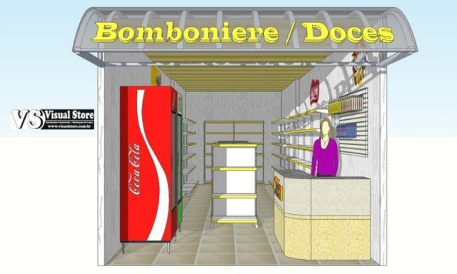 Projeto de Bomboniere / Doces em Geral - Morumbi.S.P