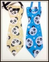 Gravata G estampada Panda(12unidades)