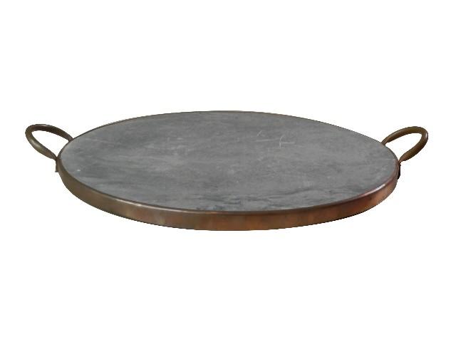 Assadeira em pedra sabão de 25 cm