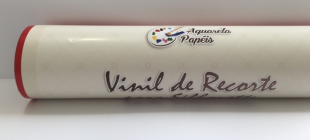 Vinil Adesivo de Recorte para Silhouette 30 cm X 5 m - Vermelho