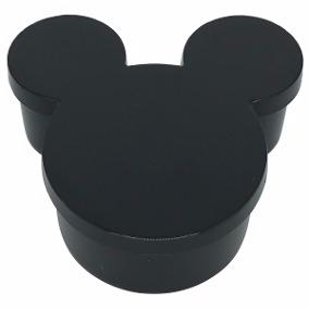 Latinha Plástica Mickey Preta - 10 Unidades
