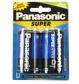 Pilha Panasonic grande c/ 2 unid.