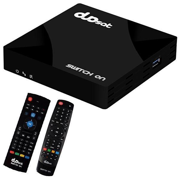 Receptor Duosat Switch On Ultra HD - Frete Grátis