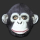 Máscara Macaco Chimpanzé