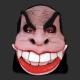 Mascara Vampiro Bocão