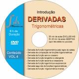 Dvd VOL.4 - Introdução as Derivadas Trigonométricas com 35min aula exclusiva e 5h25min aula aberta