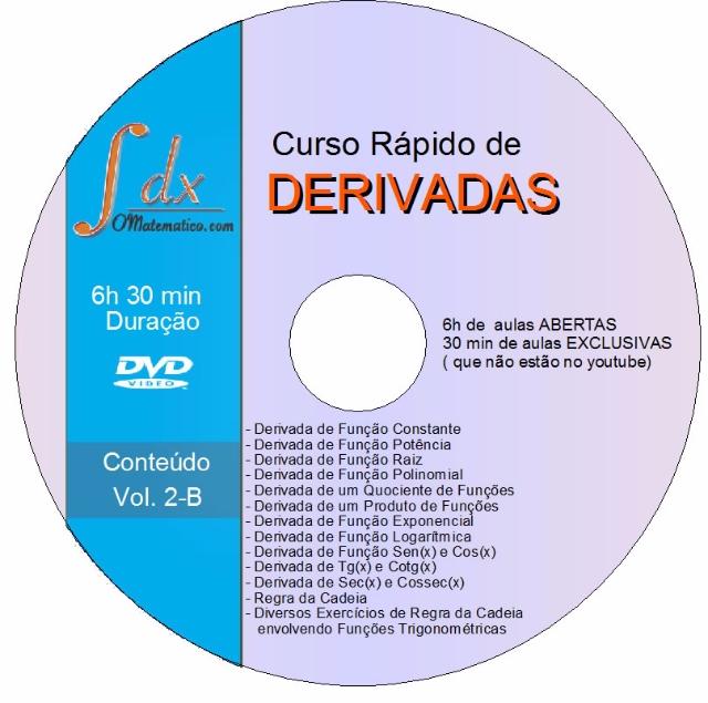 Calculo dvd derivadas