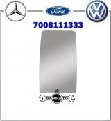 VIDRO ESPELHO RETROV FORD/MB/VW MEDIO PLANO  7008111333