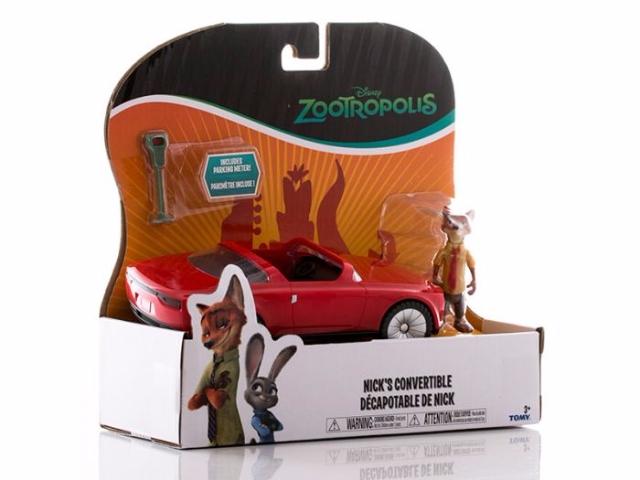 Veículo Zootopia Nick's Convertible - Sunny