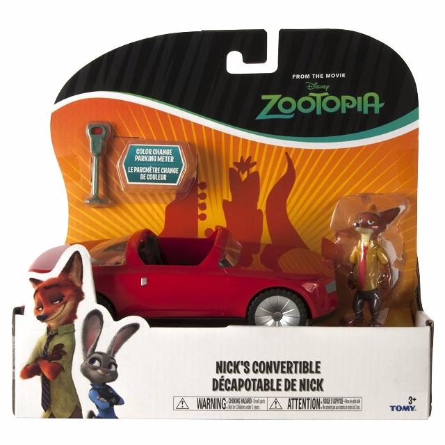 Veículo Zootopia Nicks Convertible - Sunny Brinquedos
