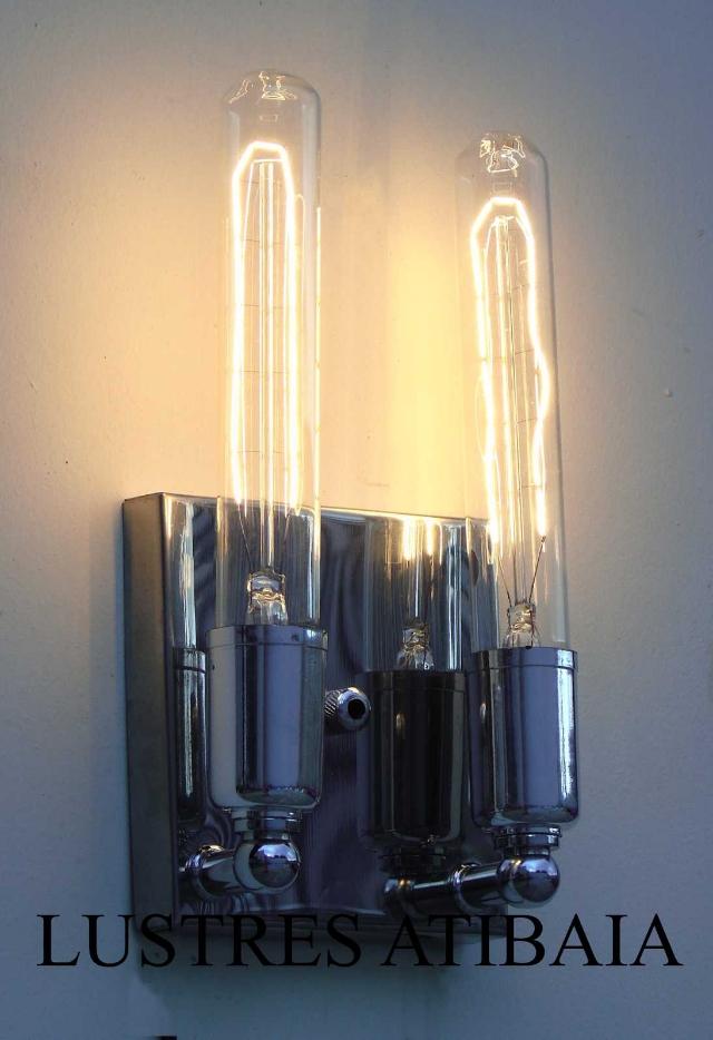Arandela Moderna Para Lâmpadas Tubo