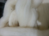 Lã de carneiro natural crú - 31my - 100 gramas