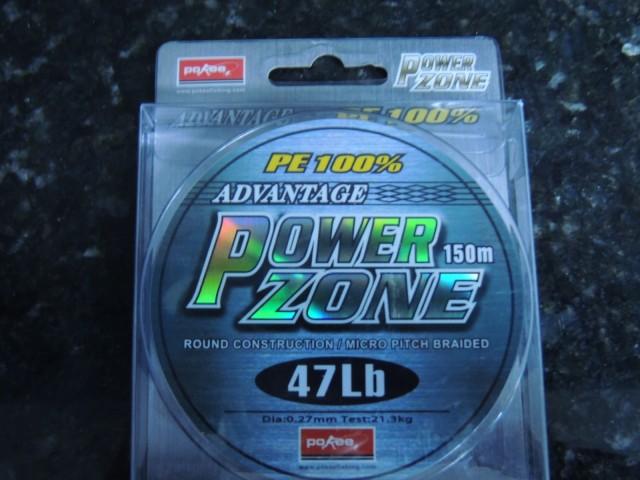 Linha Power Zone Cinza 0,27 mm - 47 lb