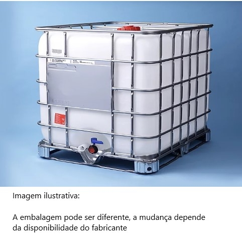 ÁLCOOL ETÍLICO Absoluto. (ETANOL) 99,5% PA.  Embalagem de 1.000 litros
