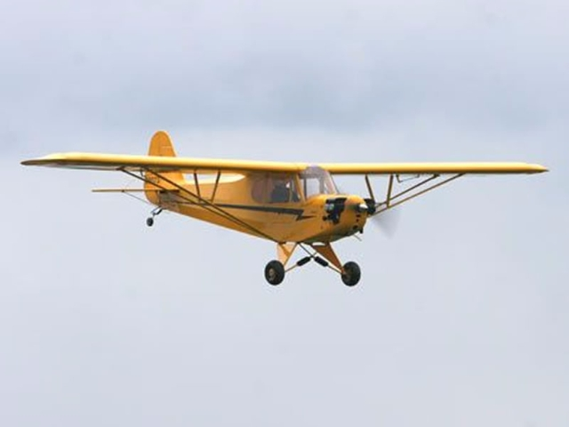 Piper J-3 Cub 1:4 Scale ARF # 4550 - HANGAR 9