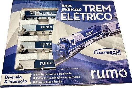 Conjunto Trem de Carga RUMO # 6526 - FRATESCHI