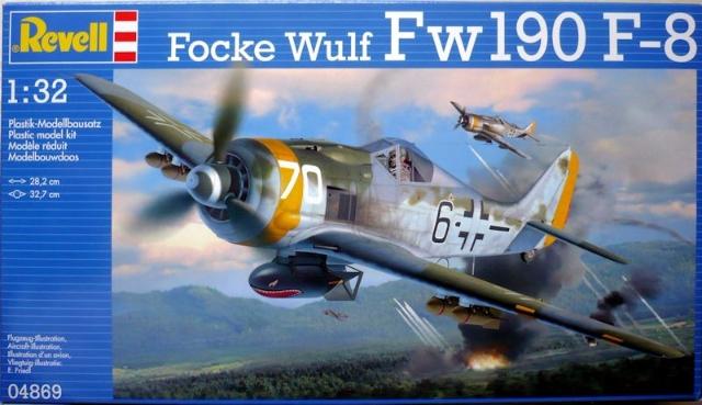 Focke Wulf Fw190 F-8 1:32 # 04869 - REVELL