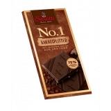 Barra de Chocolate 75% Cacau com Lascas Crocantes de Cacau da Ilha de São Tomé Sarotti 100 g (Cód. 87) (Vencimento: 04/01/2021)
