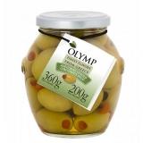 Azeitonas Verdes com Tomate Seco Olymp 200 g (Cód. 3661)