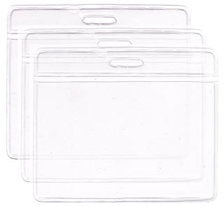Bolsa de PVC cristal, Horizontal, medida 58x89 mm