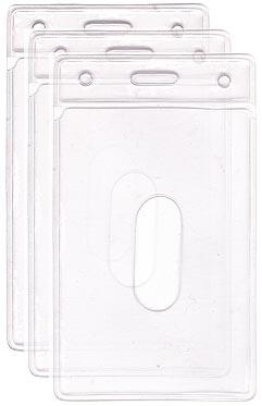 Bolsa de PVC Cristal, vertical, tipo Infraero, medida 58x89 mm