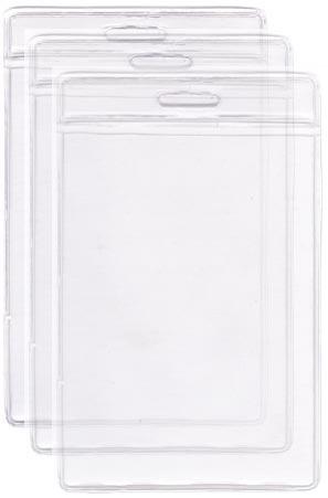 Bolsa de PVC Cristal, vertical, medida 110x150 mm