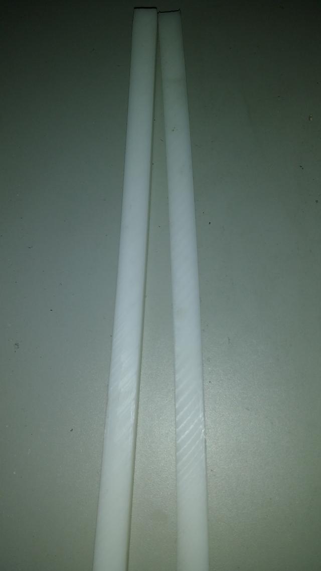 Batente de PP, para máquina guilhotina manual tipo facão, da marca krause