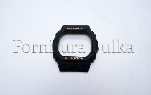 Capa compativel para relógio Casio (Sem relevo dourado para fundo rosqueado)