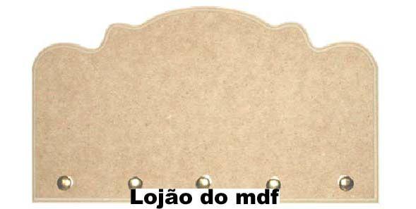 Porta-chaves mdf - cod:CAS001-27 - Tamanho 25x15cm