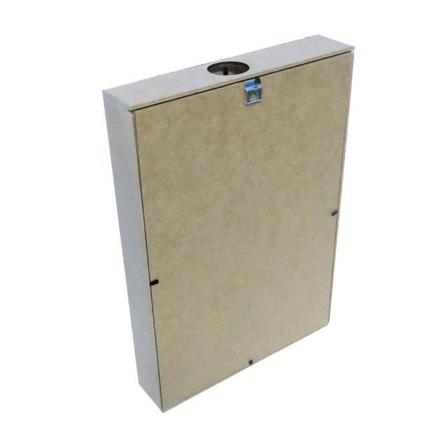 Quadro mdf Porta rolhas COD: CAS001-77 Tam: 39L X 5C X 19A CM