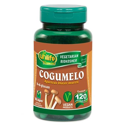 Cogumelo Agaricus blazei - 120 cápsulas 400 mg