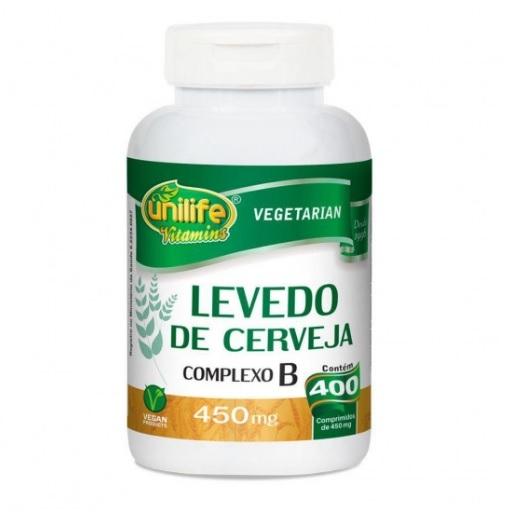 Levedo de Cerveja + Complexo B - 400 Cápsulas 450