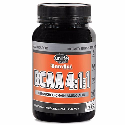 BCAA BodyAge - 180 cápsulas 630 mg