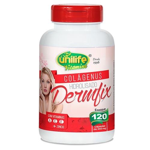 Colágeno com Vitaminas Dermfix 450 mg - 60 cápsulas