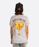 Camiseta Kaia vs Pizza Feminina Cinza