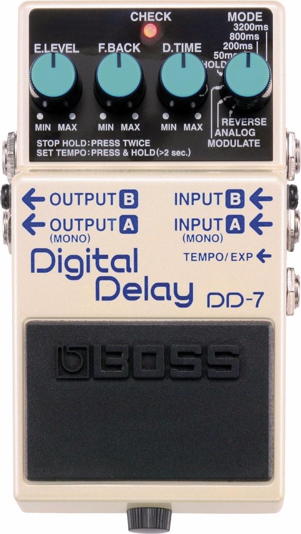 Pedal Digital Delay DD-7 Boss