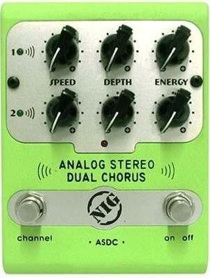 Pedal Analog Dual Stereo Chorus ASDC Baixo/Guitarra NIG