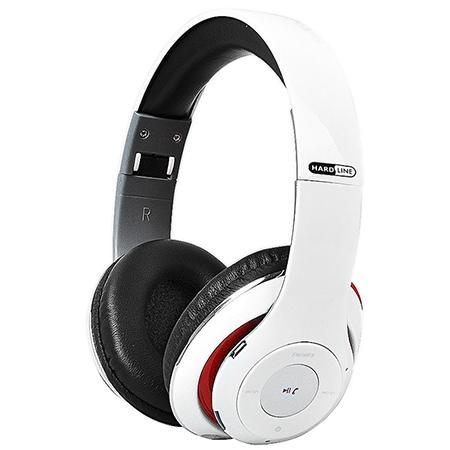 Fone de Ouvido Dobrável com Bluetooth/FM/Cartão Micro SD e USB Branco TM010 Hardline